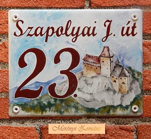 Házszámtábla 232