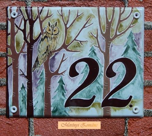 Házszámtábla 273