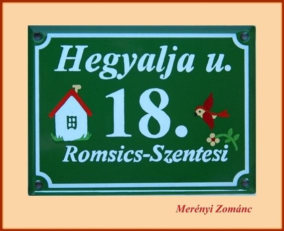 Házszámtábla 41