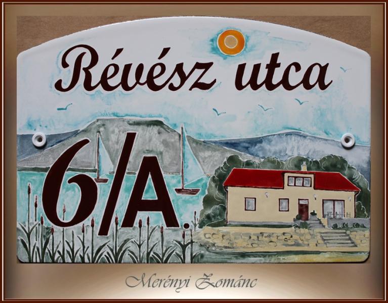 Házszámtábla 431