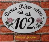 Házszámtábla 162