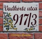 Házszámtábla 179