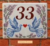 Házszámtábla 238