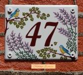 Házszámtábla 245