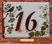 Házszámtábla 264