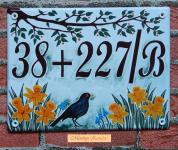 Házszámtábla 274